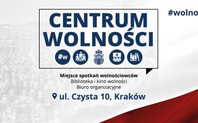 Wielkie Otwarcie Centrum Wolności w Krakowie